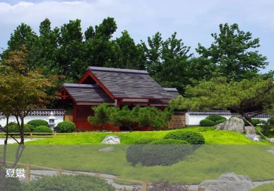 福寿园夏景